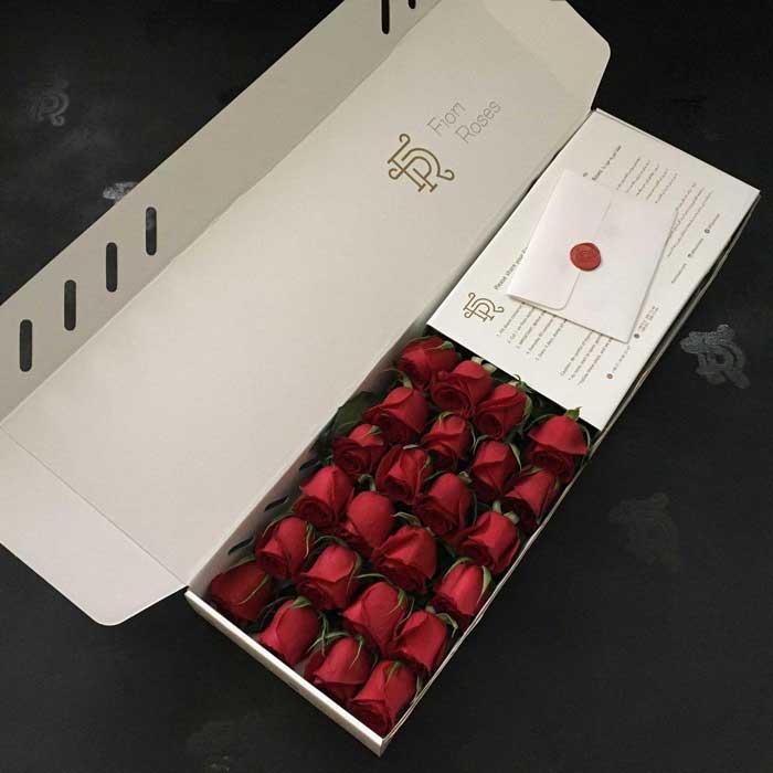 باکس گل خوابیده