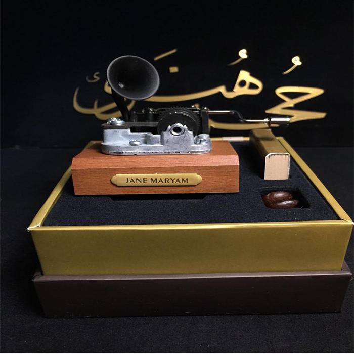 جعبه موزیکال گرامافونی جان مریم
