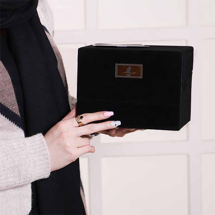جعبه گل لاوین+ پاستیل